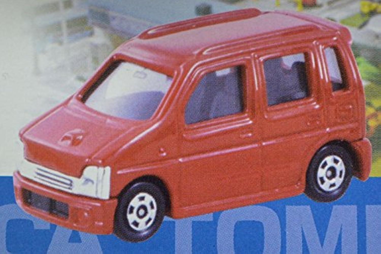 トミカくじ 2 スズキ ワゴンR 初代 レッド