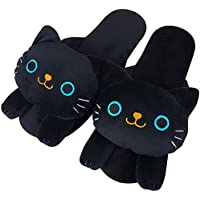 Black Cat Slipper ME210