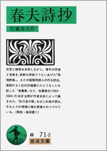 春夫詩抄 (岩波文庫)の詳細を見る