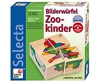 六面体パズル 4pcs 動物園 / Zookinder
