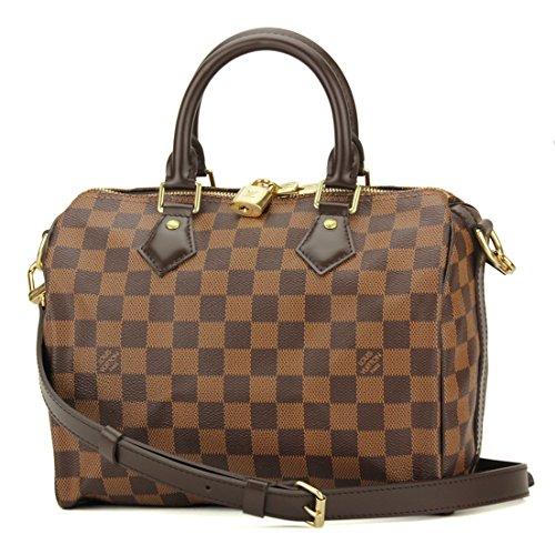 ルイヴィトン(Louis Vuitton) ダミエ・エベヌ DAMIER EBENE N41368 ハンドバッグ ブラウン[並行輸入品]