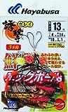 ハヤブサ(HAYABUSA) SE750 13ー4号 誘撃カレイ 鮮艶エッグボール