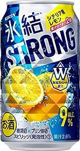 キリン 氷結ストロング シチリア産レモン 缶 350ml