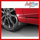 【USマツダ・直輸入純正品】 Mazda AXELA アクセラ マッドガード/スプラッシュガード (泥除け) フロント/リアセット