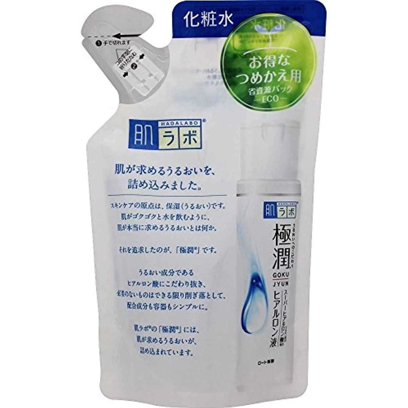 最大化する安心させるモード肌ラボ 極潤ヒアルロン液 つめかえ用 170ml