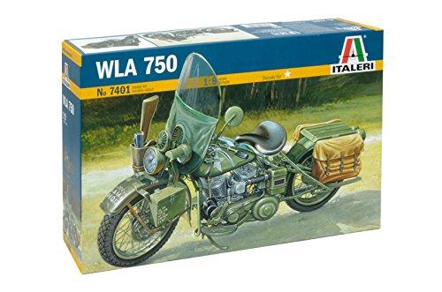 イタレリ ITALERI 1/9 ミリタリーバイク No.7401 アメリカ軍オートバイWWII