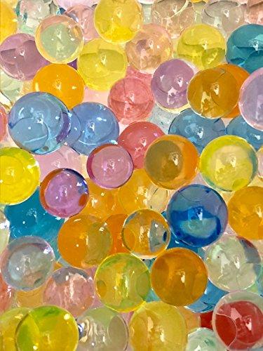 ぷよぷよボール 小分け10袋 1個500個入り (約5000個入) 水で膨らむビーズ カラフル ジェ...