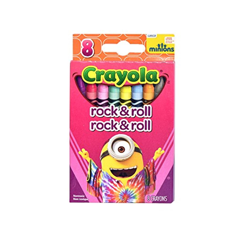 CrayolaミニオンズRock & Rollクレヨン