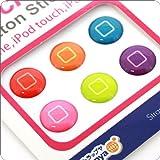 Touch me!ホームボタンにピッタリのステッカー(スイッチ)【iPhone4Sも対応♪】
