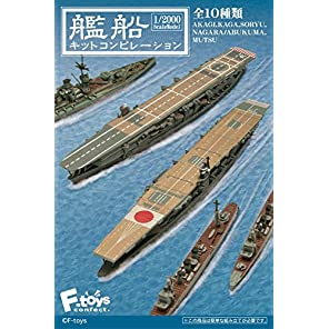 艦船キットコンピレーションフルコンプ 10個入 食玩・ガム(コレクション)