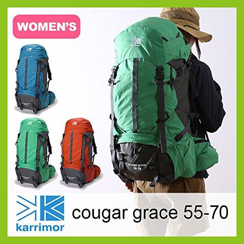 カリマー クーガー グレイス 55-70 cougar grace 55-70 グレース バックパック レディース アイリッシュグリーン