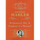 マーラー: 交響曲 第8番 変ホ長調 「一千人の交響曲」/ドーヴァー社/小型スコア