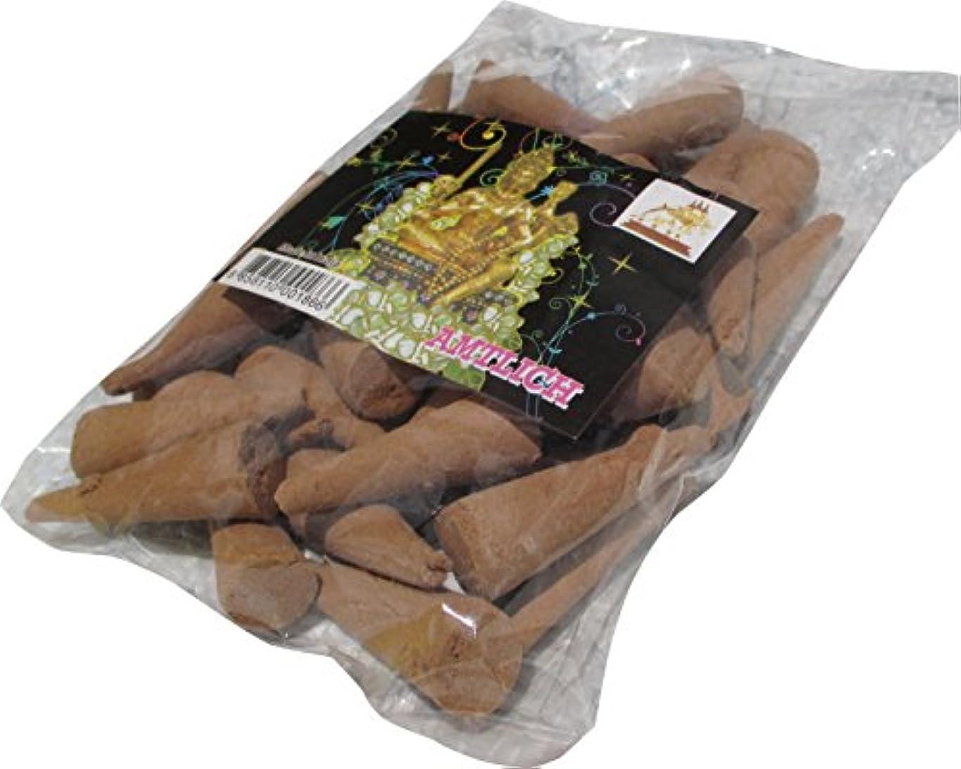 ライセンスなめらかな嬉しいですRaanPahMuang Incense Fragrant Conesバルクパック – ブラウン40 – 50個