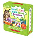 Nonfiction Sight Word Readers: Guided Reading Level C, Ages 3-7, Teaches 25 Key Sight Words to Help Your Child Soar as a Reader