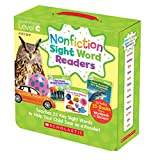 Nonfiction Sight Word Readers: Guided Reading Level C, Ages 3-7, Teaches 25 Key Sight Words to Help Your Child Soar as a Reader!