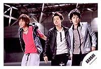 嵐 ARASHI 公式生写真 Crazy Moon ~キミ・ハ・ムテキ~ MV&ジャケ写撮影オフショット 【混合 相葉雅紀 二宮和也 大野智】