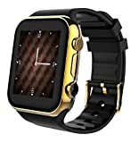 Scinex SW20 16GB Bluetooth Smart Watch GSM Phone for iPhone and Android - US Warranty (Gold/Black) by Scinex