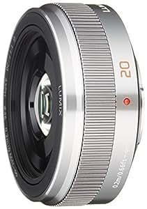 Panasonic 単焦点レンズ マイクロフォーサーズ用 ルミックス G 20mm/F1.7 II ASPH. シルバー H-H020A-S