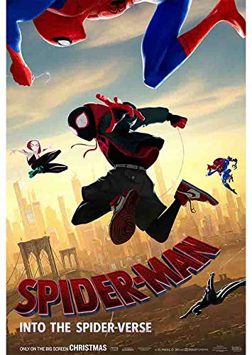 Spider-Man Into the Spider-Verse Film Series Movie Poster Print Size (30cm x 43cm / 12 Inches x 17 Inches) N1