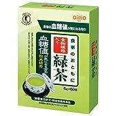 [トクホ]日清オイリオ 食事のおともに食物繊維入り緑茶 6g×60包