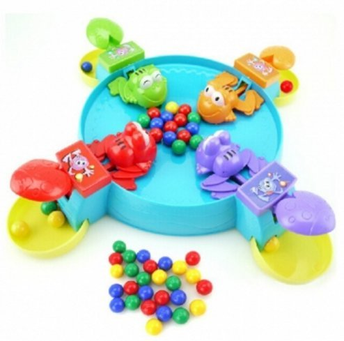 Beads Frog Eat Beans The Ball Desktop Family Games Educational Toys by Abcstore99