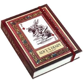 [アートデコ7321] ART DECO 7321 不思議の国のアリス スケジュール帳VOL.01 布張りソフトカバー トランプうさぎ