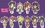 アイドルマスター シンデレラガールズ (A)キュート スタキー BOX商品 1BOX = 10個入り、全10種類