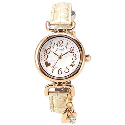 [ジェイ・アクシス]j-axis 腕時計 ファッション HL98-W レディース