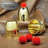 カップ&ボール(金) M8713