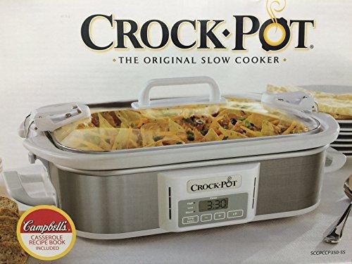 [해외]Crock-Pot Programmable Cook &  Carry Casserole Crock Slow Cooker by Crock-Pot/Crock-Pot Programmable Cook & Carry Casserole Crock Slow Cooker by Crock-Pot