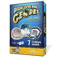Coffret Découverte Géode - Ouvre 7 véritables géodes!