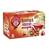 Teekanne , Rosehip and Hibiscus Flowers, 70 g , (Pack of 20)