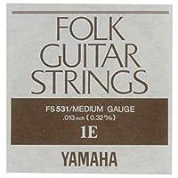 YAMAHA FS531 アコースティックギター用 バラ弦 1弦×2本