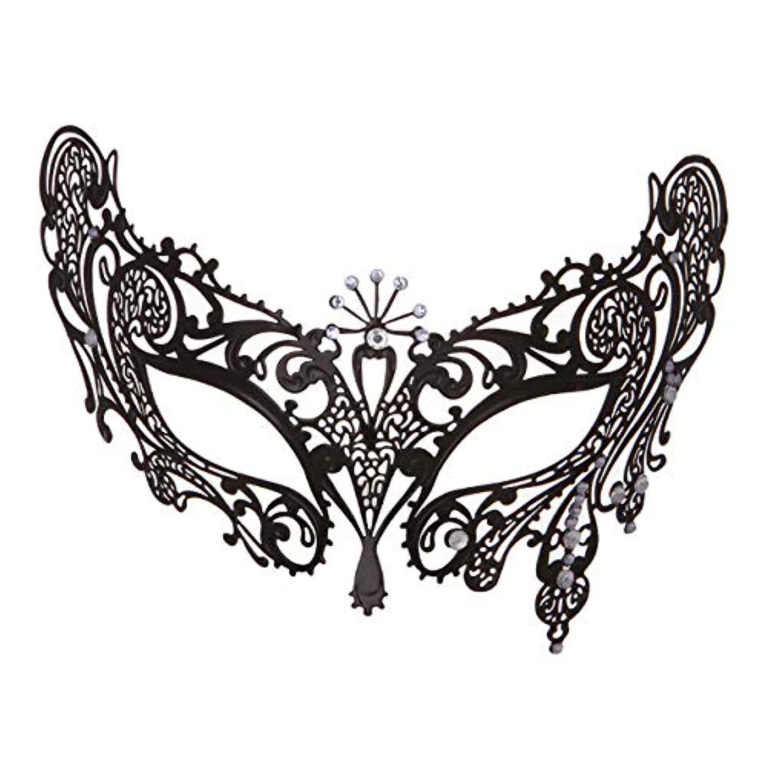 レディマスクメタルダイヤモンドパーティーパフォーマンス仮装ハロウィーンアイマスク
