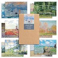 Monolike 葉書 はがき ポストカード セット Claude Monet set 12pack 12セット