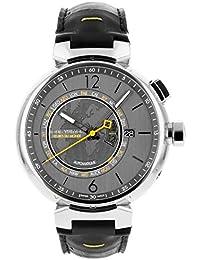 [ルイヴィトン] LOUIS VUITTON 腕時計 Q1055 タンブール ワールドタイマー グレー文字盤(地球儀モチーフ) [中古品] [並行輸入品]