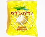 パインバウム(直径12.5cm厚3.5cm) スッキリ パインアメ と バウムクーヘン が ドッキング 大阪土産