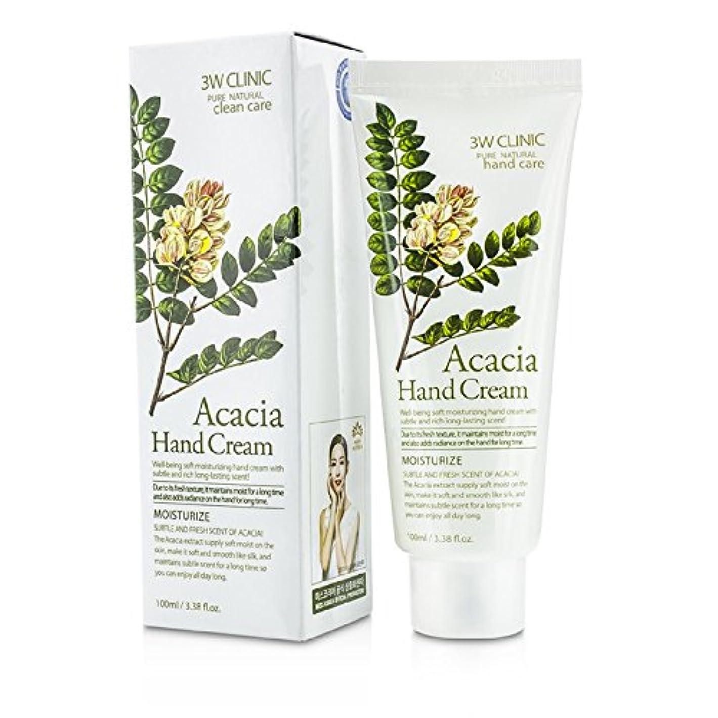 時代遅れ流出タール3Wクリニック Hand Cream - Acacia 100ml/3.38oz並行輸入品