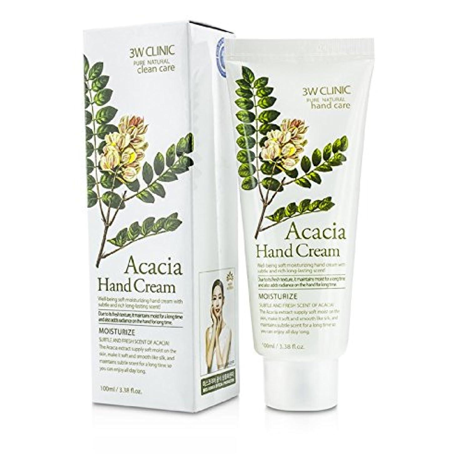 臭い項目段階3Wクリニック Hand Cream - Acacia 100ml/3.38oz並行輸入品