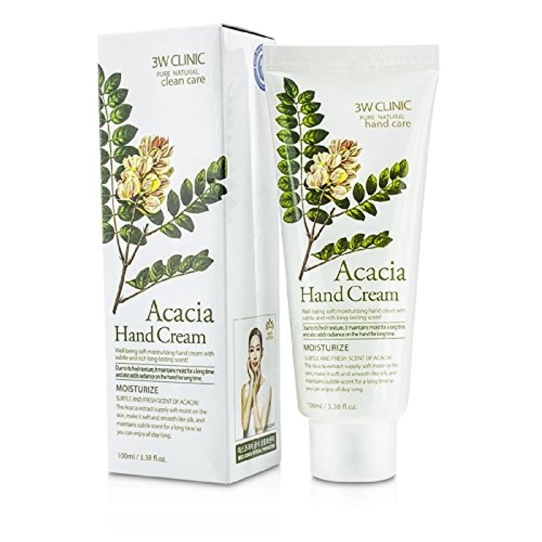 混雑スペイン小道3Wクリニック Hand Cream - Acacia 100ml/3.38oz並行輸入品