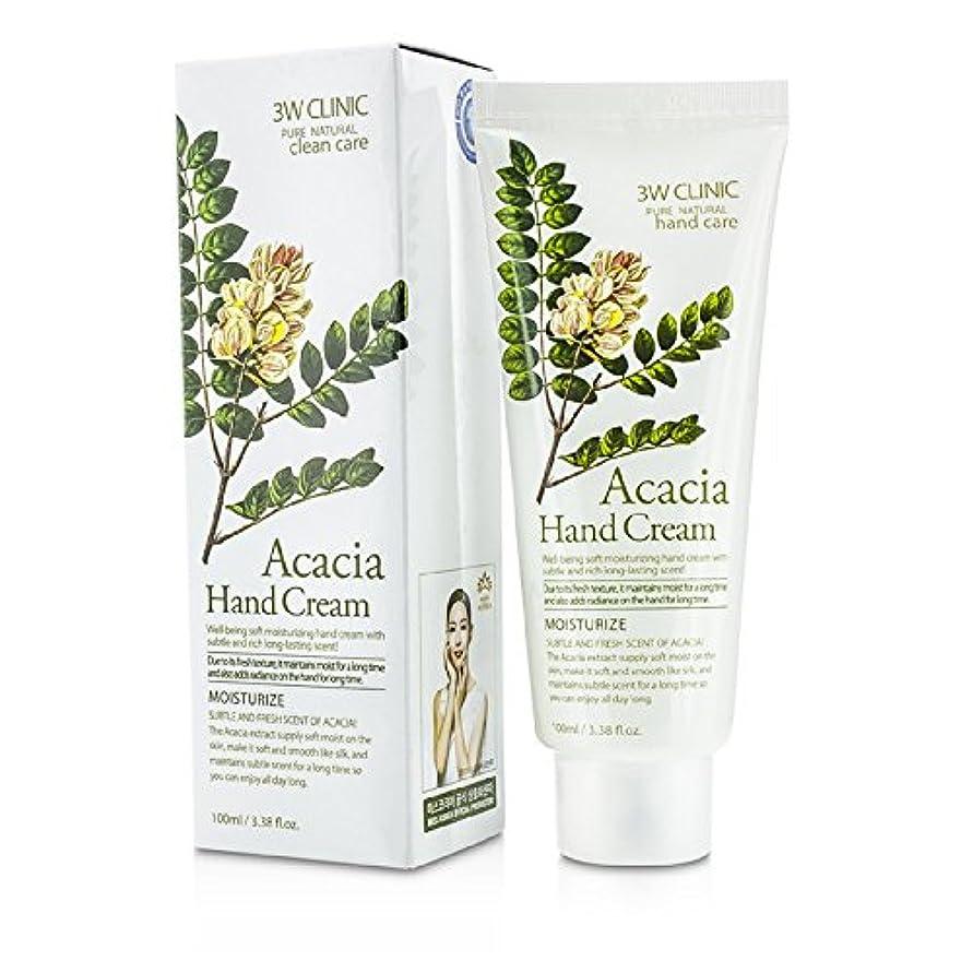 暗記するデクリメントメトリック3Wクリニック Hand Cream - Acacia 100ml/3.38oz並行輸入品