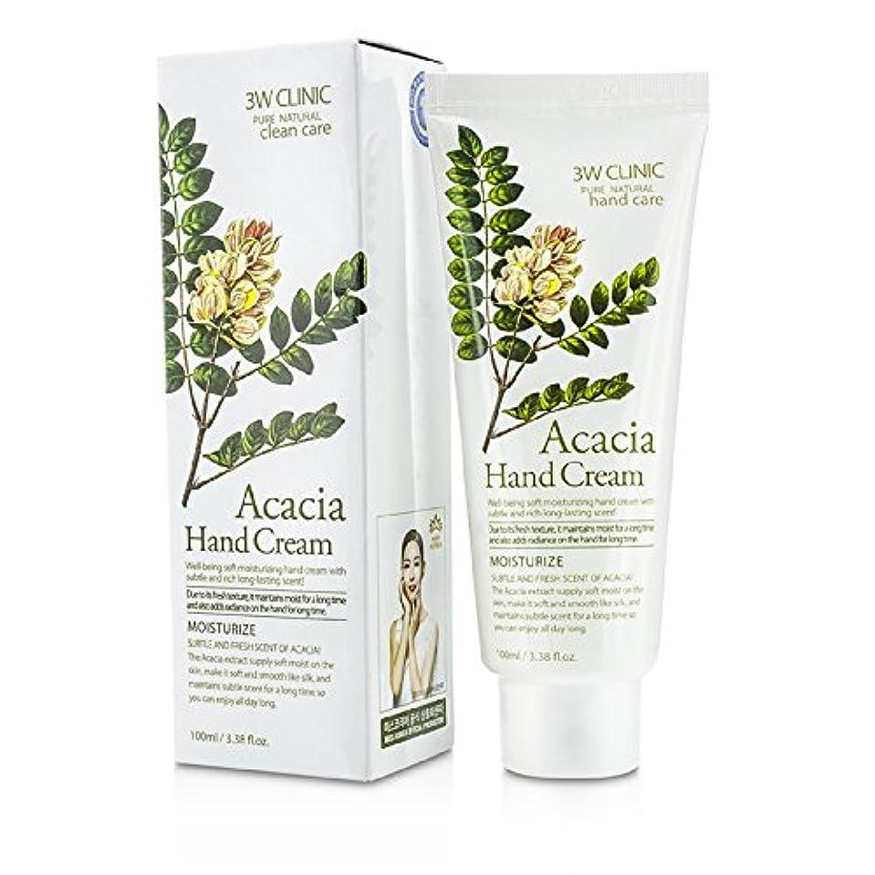 輪郭機関車記念品3Wクリニック Hand Cream - Acacia 100ml/3.38oz並行輸入品