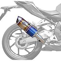 アールズギア ワイバンリアルスペック スリップオンマフラー タイプS チタンDB '17~CBR250RR RH26-03SD