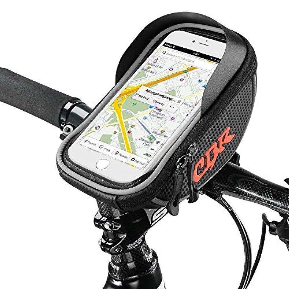 敬書くやりがいのあるバイクバック バイクポーチ, Furado バイクフレームバック Cycling Pannier Top Tube 防水バック ハンドルバーバック, 携帯ホルダーバイクポーチ Bicycle Bag Touch Screen for Smart Phone Below 6 inch [並行輸入品]
