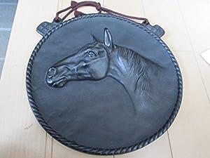 南部鉄器岩鋳/馬サラブレット/スーパークリーク掛物検 有馬記念キタサンブラックです。