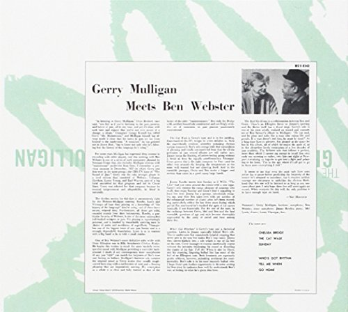 The Complete Gerry Mulligan Meets Ben Webster