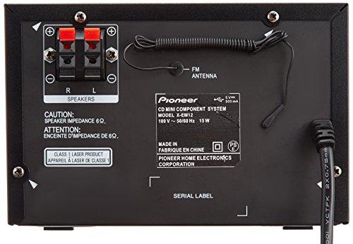 Pioneer CDミニコンポーネントシステム ブラック X-EM12