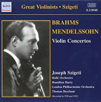 Brahms/Mendelssohn:Violin Cons