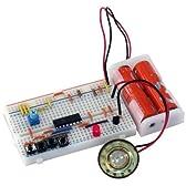 サンハヤト 小型ブレッドボードパーツセット SBS-204 動物の鳴き声キット(ネコ、イヌ、ウシ、ニワトリ)