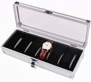 Aoakua ウォッチコレクションケース 腕時計6本収納 / アルミ製腕時計ケース6